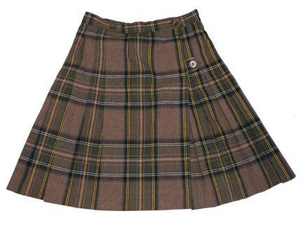 Brown kilt